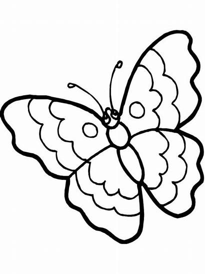 Cartoon Coloring Butterfly Eyes Sad Pages