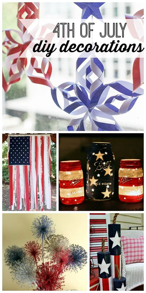 4th of july diy decorations diy 4th of july decorations my life and kids