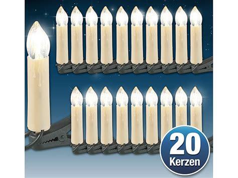 Weihnachtsdeko Fenster Mit Strom by Led Weihnachtsbaum Lichterkette Mit 20 Led Kerzen
