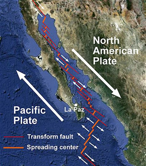 geologic setting   gulf  california mbari