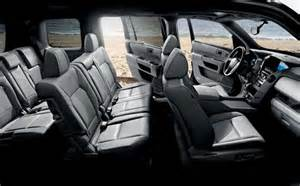 Acura Mdx Captains Chairs by 2017 Honda Pilot Redesign Changes And Concept
