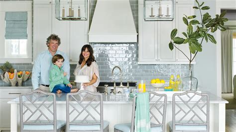 Outdoor Kitchen Backsplash Ideas - 11 beautiful blue kitchens coastal living