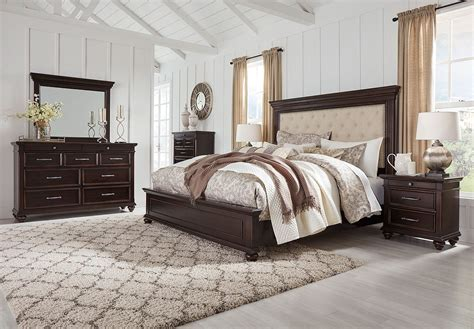 Bedroom Set By by Brynhurst Upholstered Panel Bedroom Set By Signature
