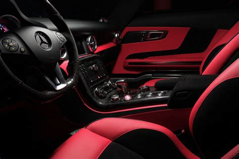 Red And Black Interior