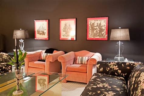 pink living room designs decorating ideas design