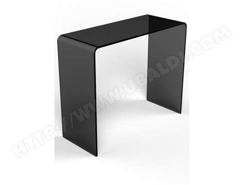 ub design canapé console ub design console en verre gris fumé pas