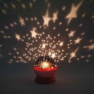 New rotation night projector light lamp star sky romantic