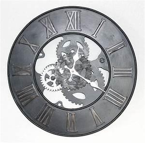 Wanduhr Vintage Metall : wanduhr zahnrad uhr loft aus metall 84605 d 39 cm ~ A.2002-acura-tl-radio.info Haus und Dekorationen