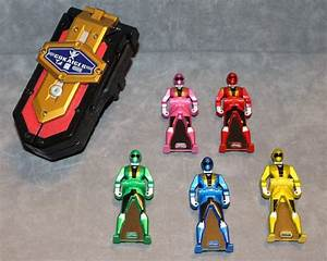Power Rangers Super Megaforce Gokaiger Mobirates Morpher 5 ...