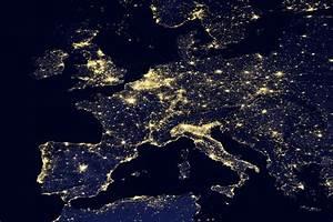 NASA Night Lights USA - Pics about space