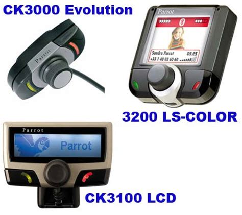 three parrot car kit line of products released in n america via circuit city techgadgets