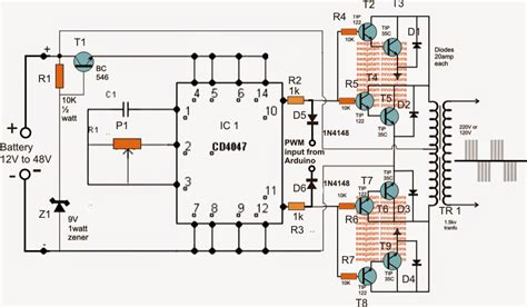 how to make a sg 3525 automatic pwm voltage regulation circuit easy circuits