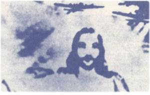 Jesus Sightings Tour: Jesus in the clouds