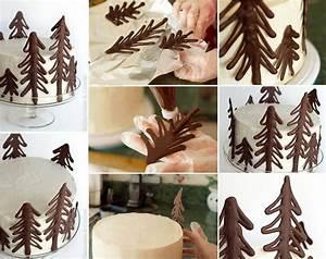 Décorer Un Gateau Au Chocolat : d coration au chocolat ~ Melissatoandfro.com Idées de Décoration