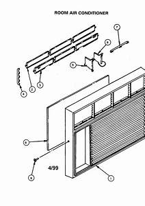 Carrier Room Air Conditioner Parts