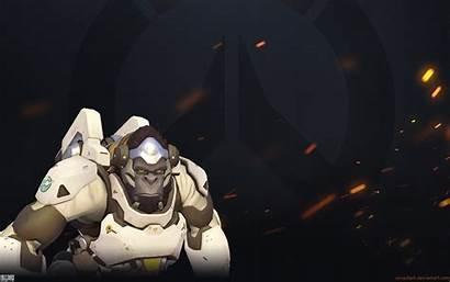 Overwatch Winston Wallpapers Desktop Backgrounds Fire Background