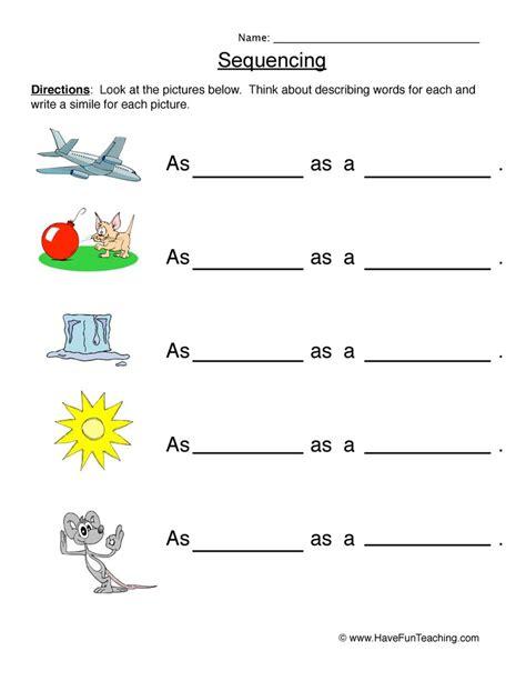 analogy worksheets teaching