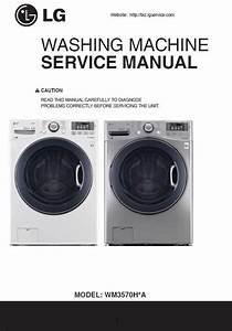 Lg Wm3570h Wm3570hwa Wm3570hva Washing Machine Service
