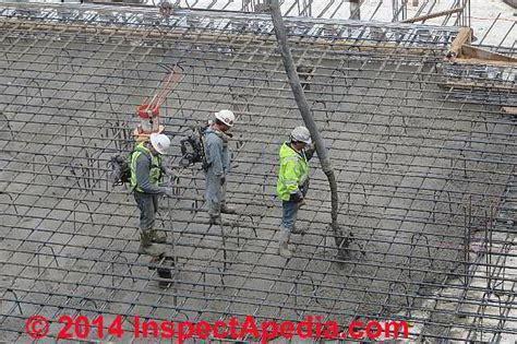 Concrete Odors, Smells, Dust: exposure hazards, sources