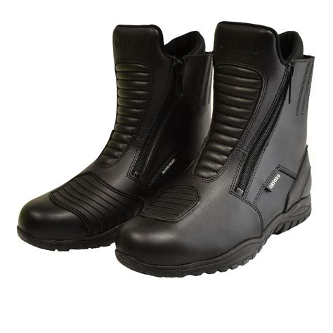 short motorbike boots oxford comanche short leather motorcycle boots boots