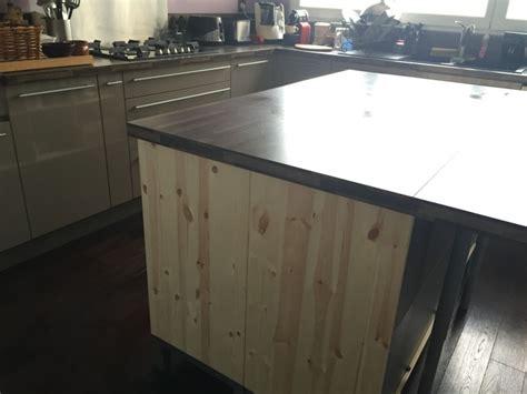 meuble d appoint cuisine ikea un îlot central avec un bar à moins de 700 bidouilles ikea
