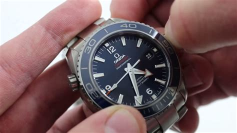 Omega Seamaster Planet Ocean 600m Coaxial Ref 2329046