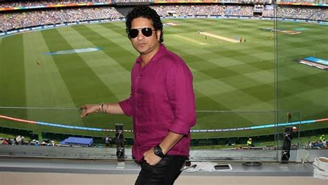 sachin tendulkar  memorable trip  cricket field