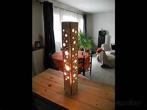 Lampe En Palette : lampe en palette par tito sunj ~ Voncanada.com Idées de Décoration