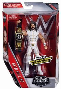 WWE Seth Rollins - Elite 45 Toy Wrestling Action Figure