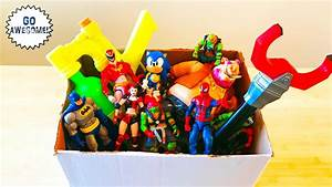 Box Of Toys  Huge Action Figures Toy Haul With Ninja