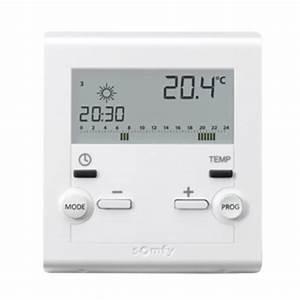 Thermostat D Ambiance Sans Fil Pour Chaudiere Gaz : la somfy box et le thermostat rts de somfy domotique info ~ Premium-room.com Idées de Décoration