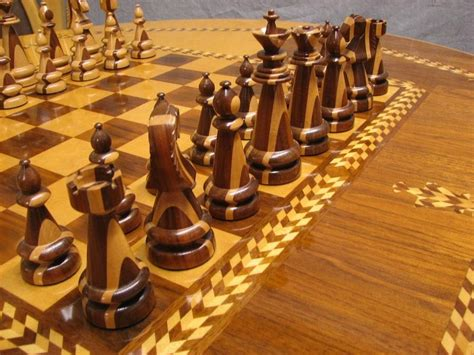 quot chess set table chairs some better pictures by