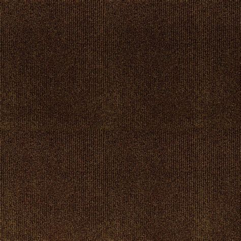 trafficmaster ribbed carpet tiles trafficmaster ribbed brown texture 18 in x 18 in carpet