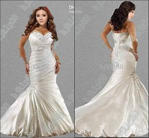 hot sale new sexy 2014 mermaid sweetheart plus size With wedding dress sale online
