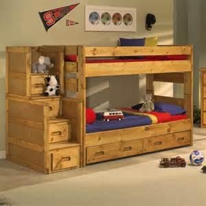 trendwood wrangler twin bunk bed bedroom collection