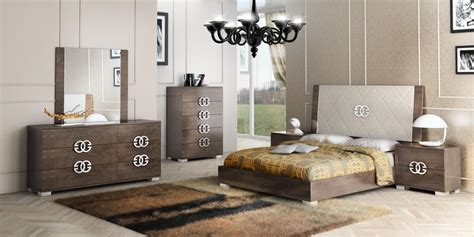High Bedroom Set by Made In Italy Leather High End Bedroom Sets San