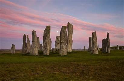 Stone Circles British Britain Isles Stones Standing