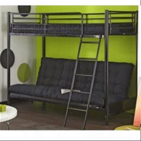 lit mezzanine avec canapé lit mezzanine pour adolescent en promotion meubles