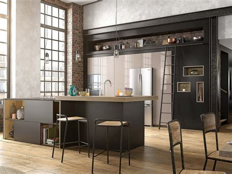 cuisine mur vert mettez du noir dans la cuisine joli place