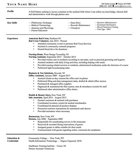 Med School Resume Boosters by Important Resume Tips For Trade Professionals