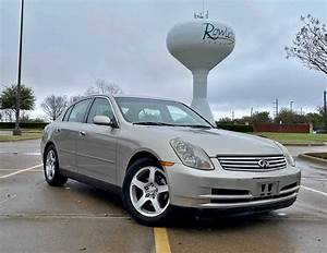 2003 Infiniti G35 Sedan Manual Transmission For Sale