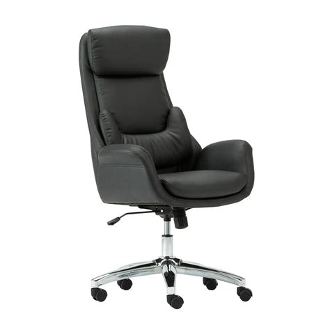 Office Chairs With Lumbar Support by Techni Mobili Black Ergonomic Home Office Executive Chair