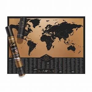 Carte Du Monde à Gratter Maison Du Monde : carte du monde gratter aventure cadeau maestro ~ Teatrodelosmanantiales.com Idées de Décoration