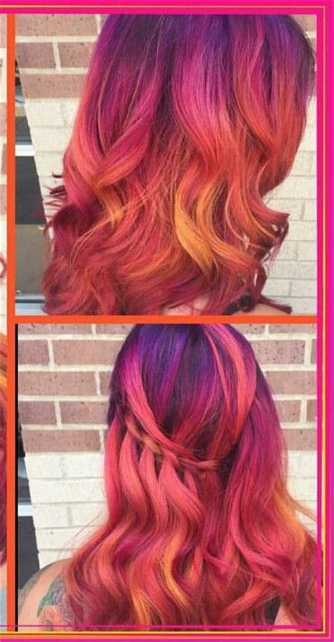 1000 Ideas About Unnatural Hair Color On Pinterest