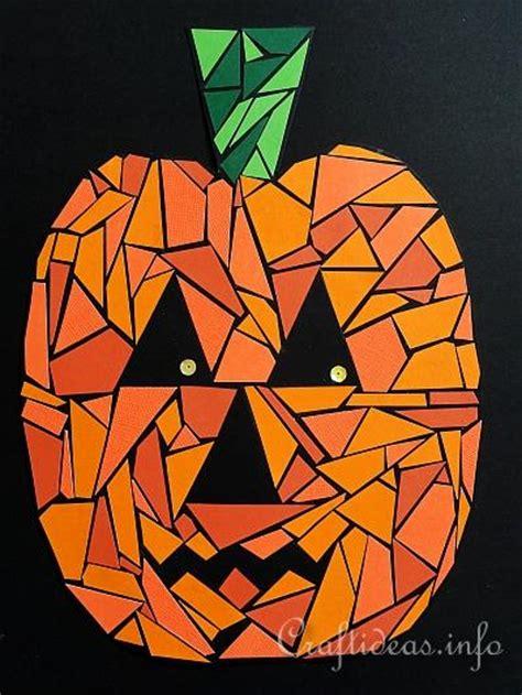Halloween Crafts For Kids  Halloween Art  Paper Mosaic