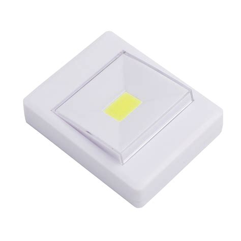cordless cob led battery operated switch light magnetic