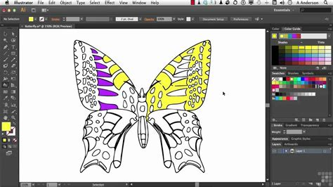 adobe illustrator cs6 tutorial working with live paint