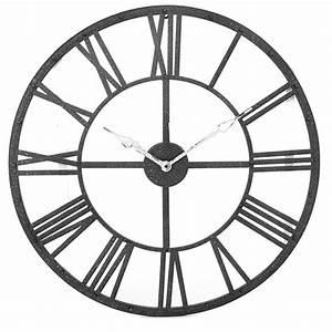 Horloge 80 Cm : horloge murale vintage xl 70 cm maison fut e ~ Teatrodelosmanantiales.com Idées de Décoration