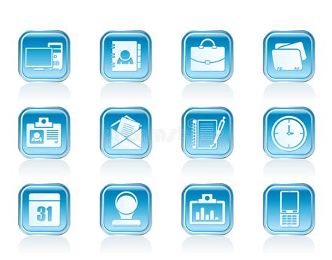 Web Applications,business And Office Icons, Universal