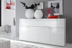 Sideboard 160 Cm : lc sideboard breite 160 cm 4 t ren und eine gro e klappe online kaufen otto ~ Buech-reservation.com Haus und Dekorationen
